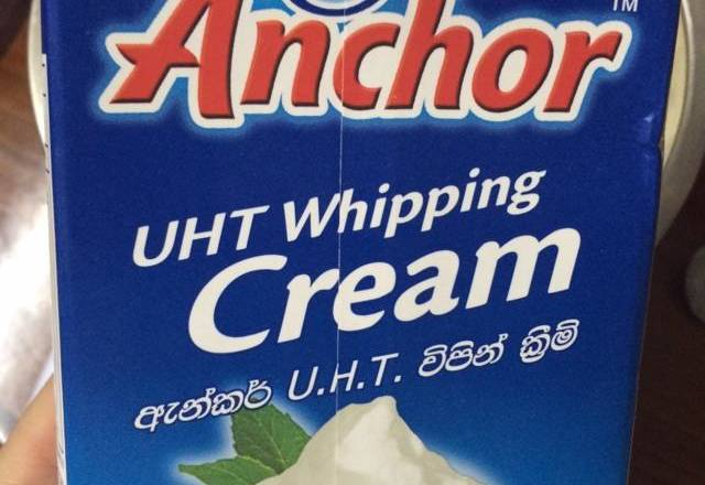 Home Cooking Recipe: 100g of whipped cream is added, 10g of condensed milk is added, and the cream can be formed.