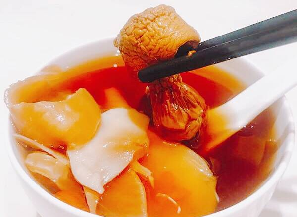 Home Cooking Recipe: A bowl of delicious soup is finished, and the gum is not cooked for too long, it will have a taste. The taste of Agaricus blazei is a lot of this soup.
