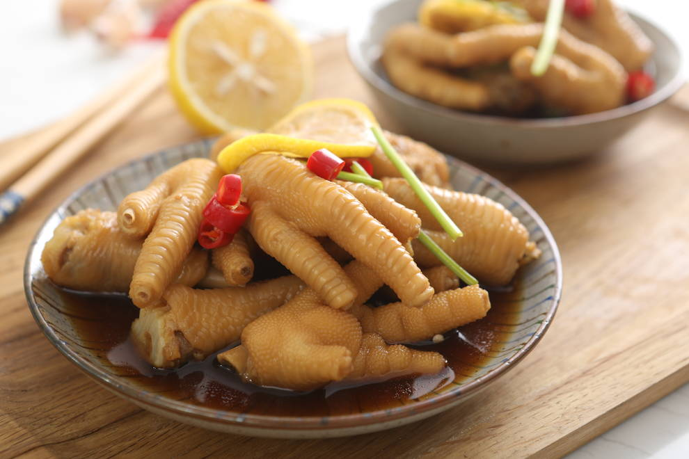 Home Cooking Recipe: A must-have summer net red dish - lemon chicken feet