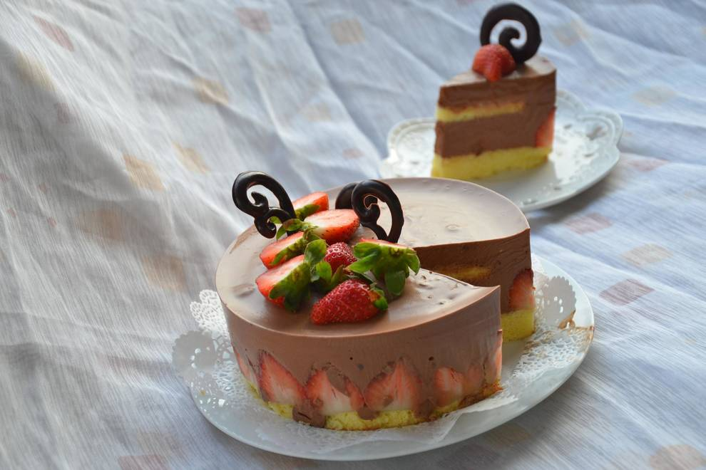 Home Cooking Recipe: A simple and easy-to-eat delicious dessert, chocolate yoghurt mousse cake