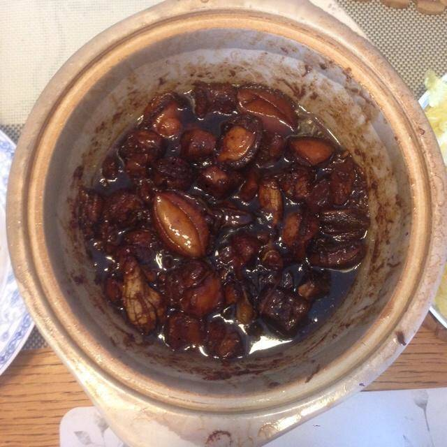 Home Cooking Recipe: Abalone braised pork
