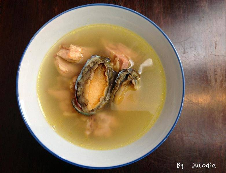 Home Cooking Recipe: Abalone chicken soup