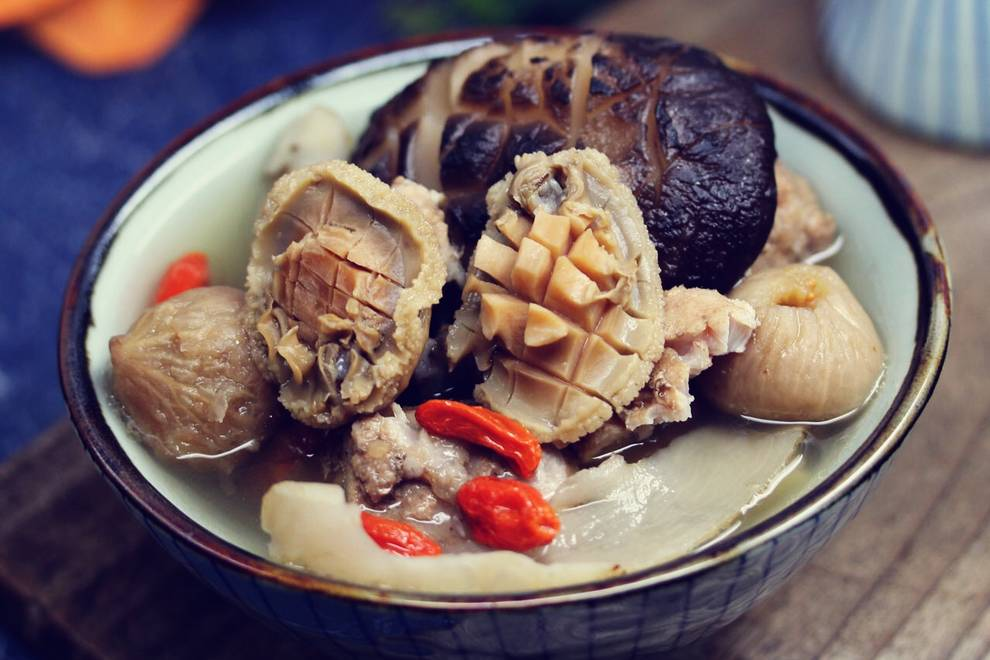 Home Cooking Recipe: Abalone, Haizhen Mushroom Soup