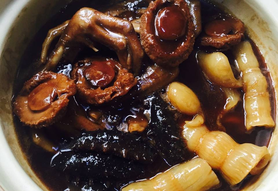 Home Cooking Recipe: Abalone juice buckle fresh goose