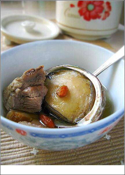 Home Cooking Recipe: Abalone ribs soup