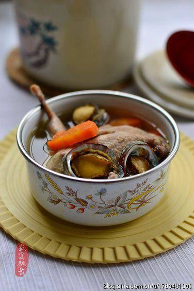 Home Cooking Recipe: Abalone stew