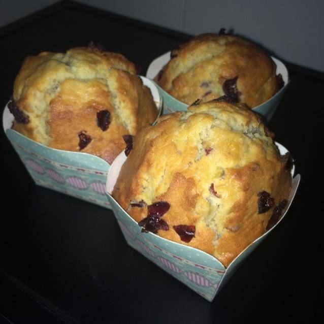 Home Cooking Recipe: (absolutely successful) Cranberry Plum Muffin