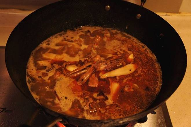 Home Cooking Recipe: Add cold water, no duck meat, and boil over high heat.
