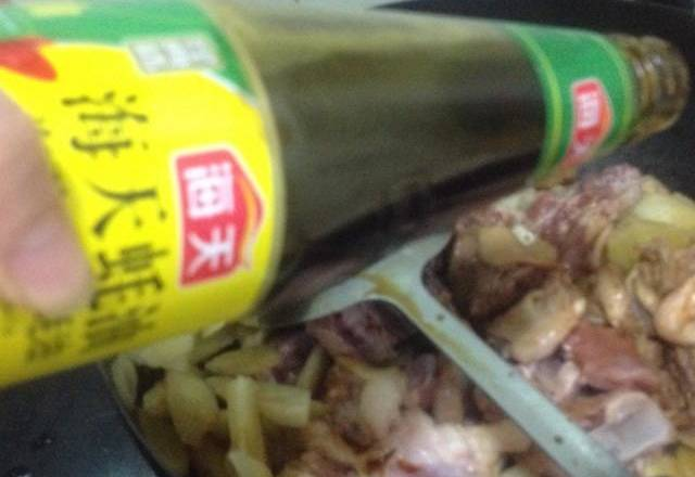 Home Cooking Recipe: Add oyster sauce and fresh