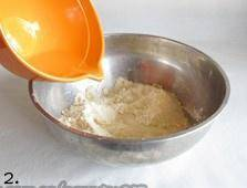 Home Cooking Recipe: Add water to the smooth flour