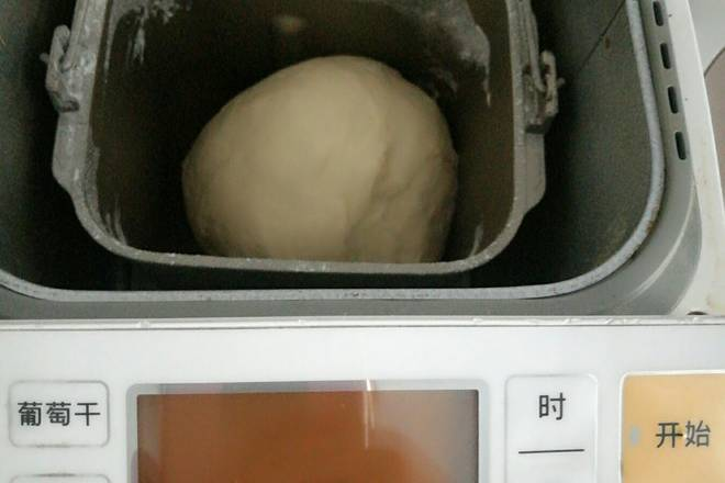 Home Cooking Recipe: After the fermentation is completed, the dumpling skin dough is opened again and exhausted;