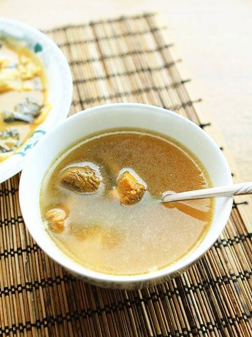 Home Cooking Recipe: Agaricus blaze keel soup