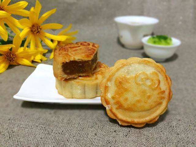 Home Cooking Recipe: Air Fryer Edition Cantaloupe Filling Mooncake