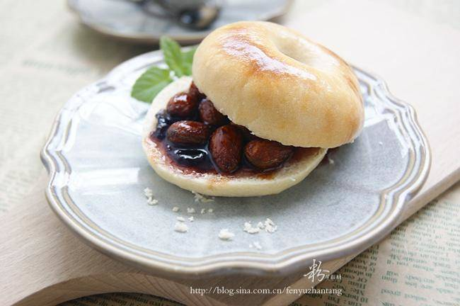 Home Cooking Recipe: Almond Blueberry QQ Bego
