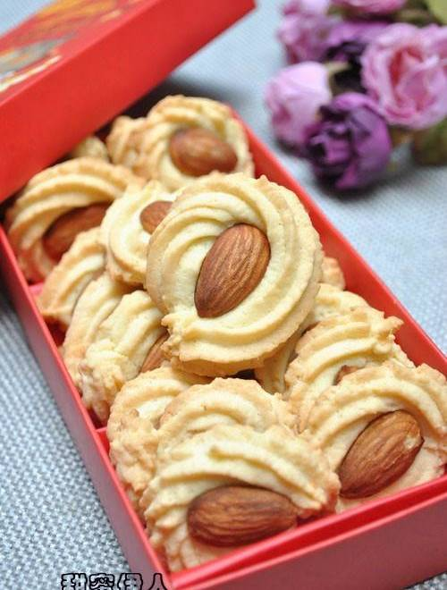Home Cooking Recipe: Almond cookie