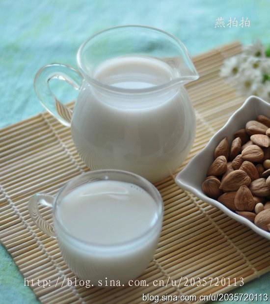 Home Cooking Recipe: Almond milk
