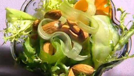 Home Cooking Recipe: Almond mixed salad