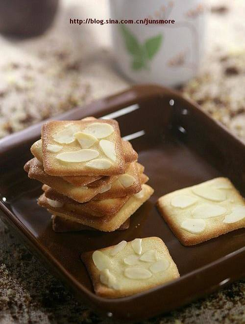 Home Cooking Recipe: Almond tile crisp