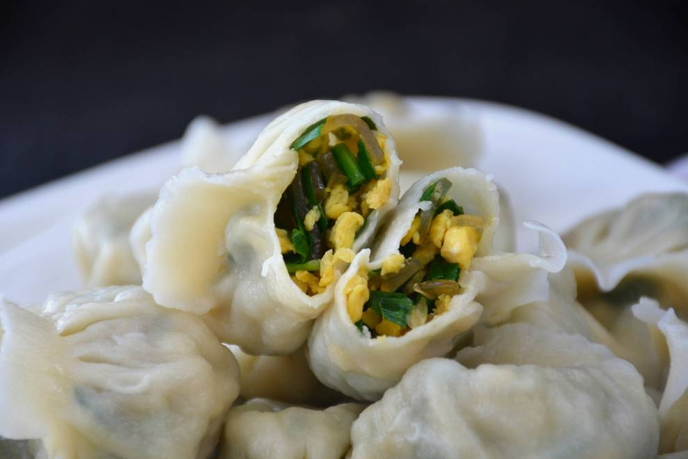 Home Cooking Recipe: Amaranth egg powder dumplings