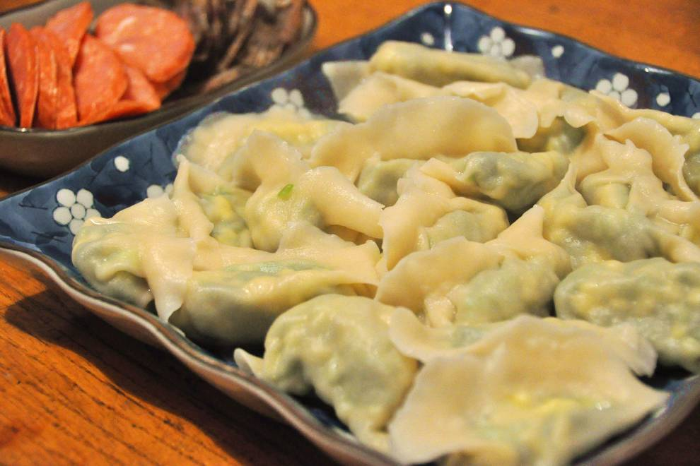 Home Cooking Recipe: Amaranth egg stuffing dumplings