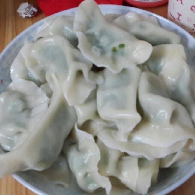 Home Cooking Recipe: Amaranth pork dumplings