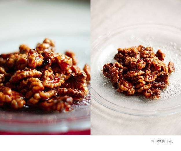Home Cooking Recipe: Amber walnut