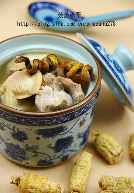 Home Cooking Recipe: American Ginseng and Dendrobium