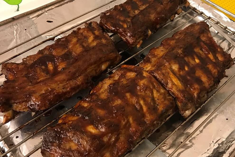 Home Cooking Recipe: American Pork Ribs BBQ Ribs