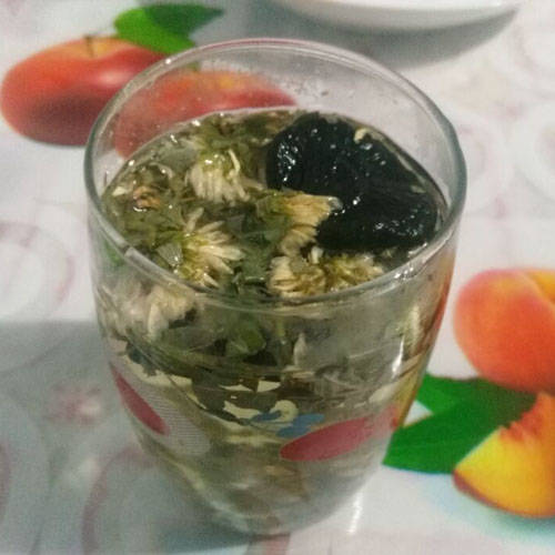 Home Cooking Recipe: Apocynum lucidum soaked in water - lowering blood pressure Chinese medicine remedies