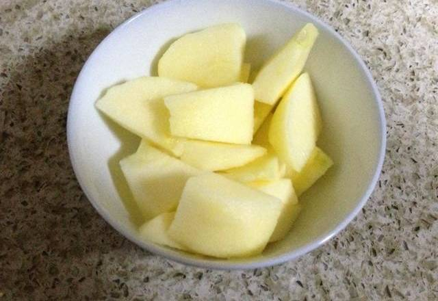 Home Cooking Recipe: Apple dicing