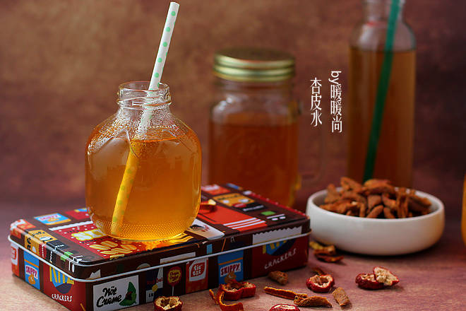 Home Cooking Recipe: Apricot skin water