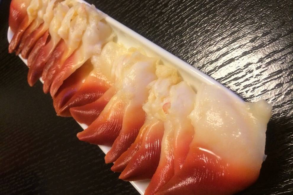 Home Cooking Recipe: Arctic Bay sashimi
