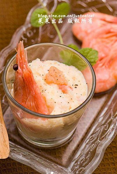 Home Cooking Recipe: Arctic Sweet Shrimp Mashed Potato Salad