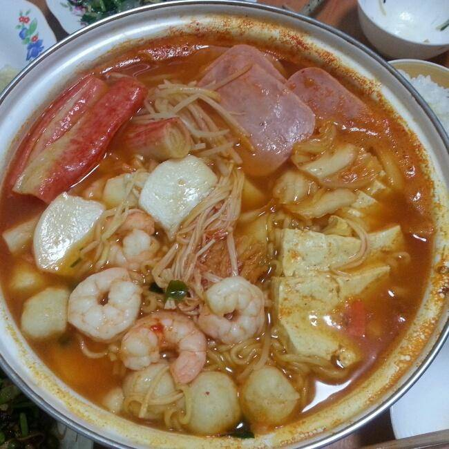 Home Cooking Recipe: Army hot pot