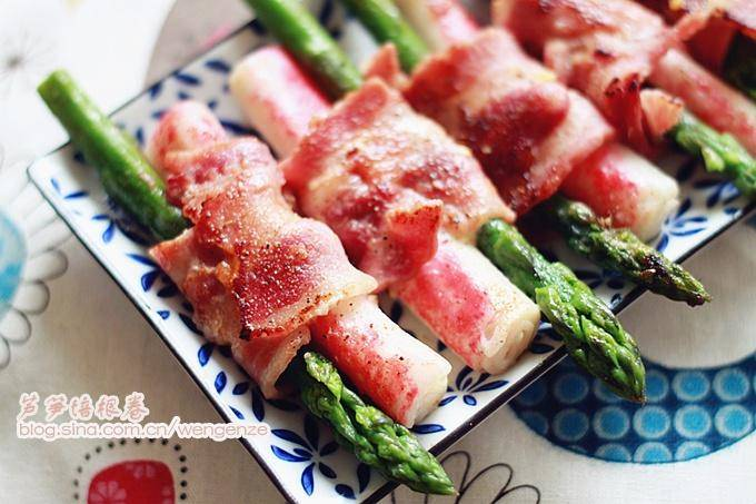 Home Cooking Recipe: Asparagus Bacon Roll