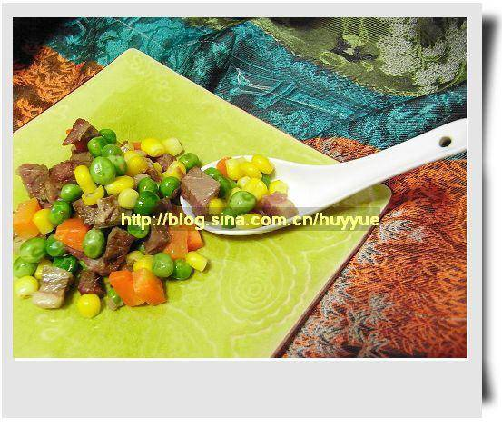 Home Cooking Recipe: Assorted diced meat