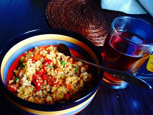 Home Cooking Recipe: Assorted egg fried rice