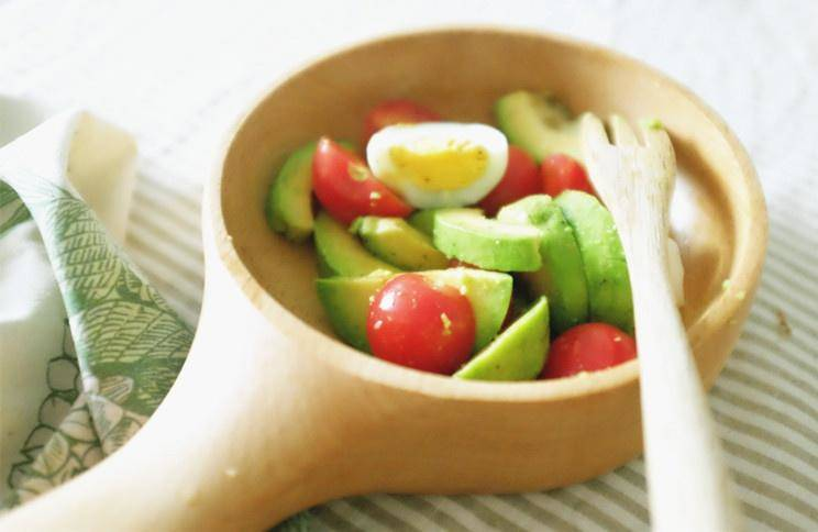 Home Cooking Recipe: Avocado Light Salad