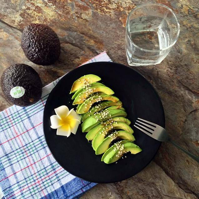 Home Cooking Recipe: Avocado soy sauce (sesame)