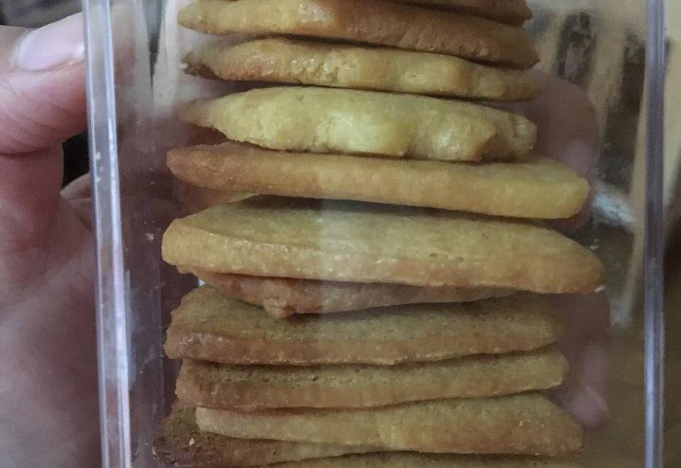 Home Cooking Recipe: Baby milk powder biscuits????