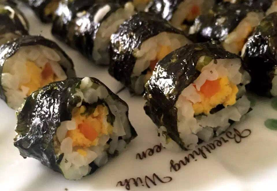 Home Cooking Recipe: Baby Recipes: Seaweed Small Rice Balls