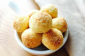 Home Cooking Recipe: Baby snacks ~ coconut balls