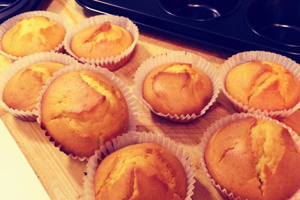 Home Cooking Recipe: Baby's favorite small triangle cheese muffin (super fast hand)