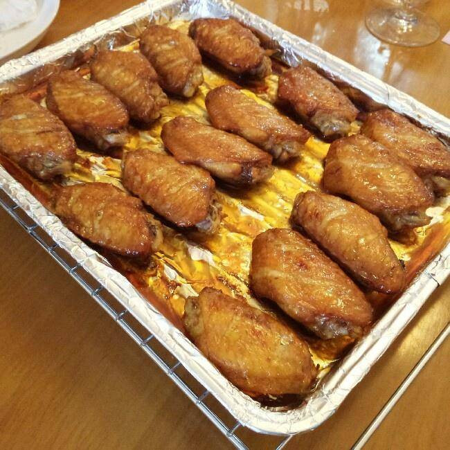 Home Cooking Recipe: Baked honey chicken wings, chicken legs (oven version)