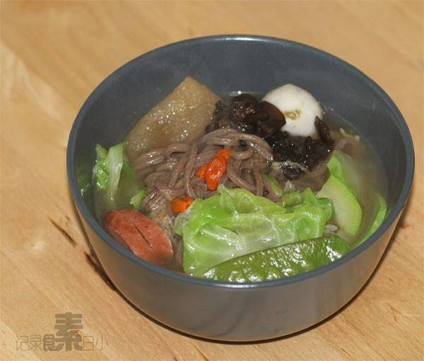 Home Cooking Recipe: Bamboo soba noodles