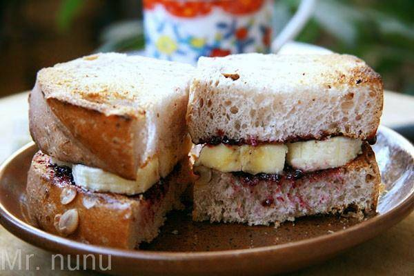 Home Cooking Recipe: Banana sandwich