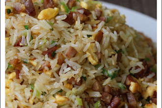 Home Cooking Recipe: Barbecued fried rice