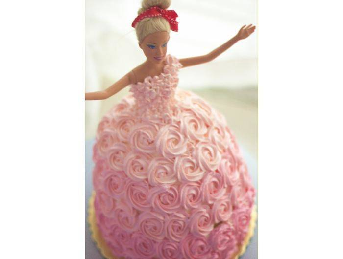 Home Cooking Recipe: Barbie Cake