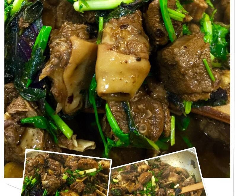 Home Cooking Recipe: Basil duck