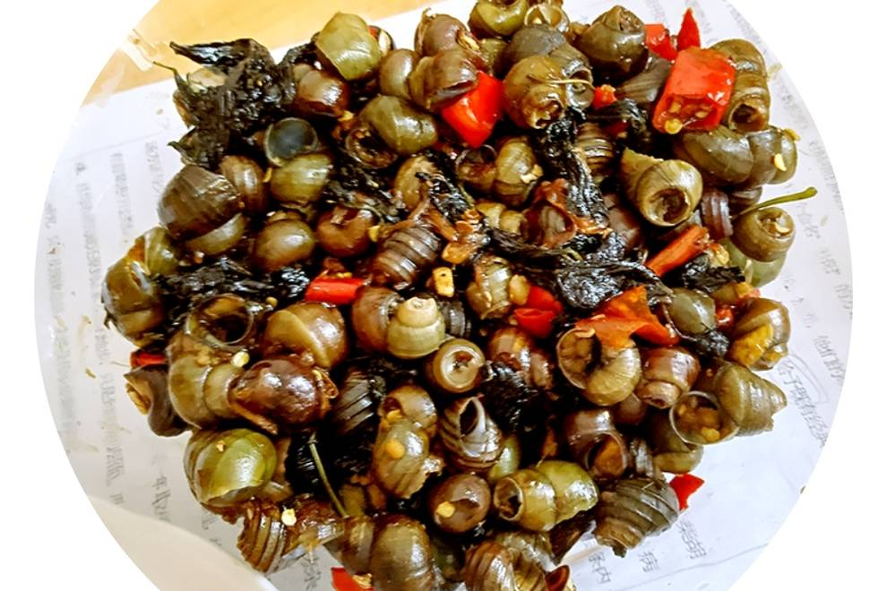 Home Cooking Recipe: Basil fried snail